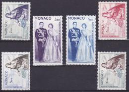 Monaco PA N° 74 Et 76 1ere Charnière (Hinged) (autres Timbres Non Comptés) - Cote 110 Euros - Prix De Départ 20 Euros - Poste Aérienne