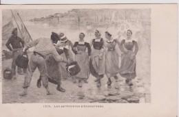 """29 FINISTÈRE CONCARNEAU """" Les Sardiniéres """" Karten Bost Précurseur   N° 1215 - Concarneau"""