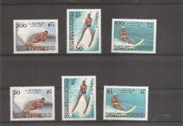 Ski Nautique ( 818/823 XXX -MNH- De Jordanie )