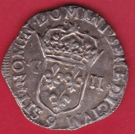 "France Henri IV - 1/4 Ecu - 1603 ""9"" - Argent - 987-1789 Monnaies Royales"