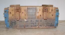 Caisse Munitions En Bois De 20 Grenades Offensives  Modèle 1937   WW2 - Equipement