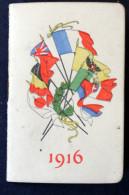 Calendrier Bijou 1916 Anotations Au Crayon - Calendriers
