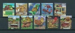 2000 New Zealand Complete Set Kiwiana Used/gebruikt/oblitere - Gebruikt