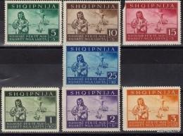 1944 Occupazione Tedesca ALBANIA Sas 15/21 Cpl MNH ** - Occ. Allemande: Albanie