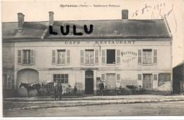 DEPT 02 : Hartennes , Restaurant Potteaux - Autres Communes