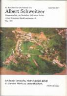 Albert SCHWEITZER Rundbrief Nr. 80 Mai 1995 Revue Périodique Du Deutschen Hilfsverein - Biographies & Mémoires