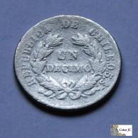Chile - 1 Décimo - 1894 - Chile