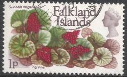 Falkland Islands. 1972 QEII. Flowers. Decimal Currency. 1p Used. SG 277 - Falkland Islands