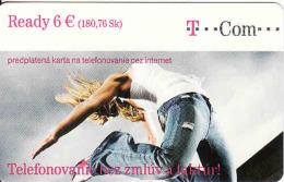Slovaquie-Slovakia, T Com Prepaid Phonecard Ready 6 €, 2 Different Issue - Slowakei