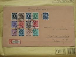 Brief 16 : 1946 Alliierte Besetzung – Gemeinschaftsausgaben – Aus MiNr. 911/935 Mit 930 Auf 2 Briefen - Gemeinschaftsausgaben