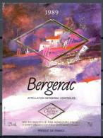 156 - Bergerac - 1989 - Grande Tradition Gourmet - Roncourt Frères - Saint Vincent De Paul Gironde - Bergerac