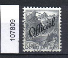 Schweiz, Bundesverwaltung Zst. / Mi. 54 O - Officials