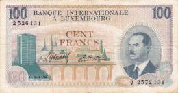 LUXEMBOURG - BILLET DE 100 FRANCS - 1968 - Luxemburg