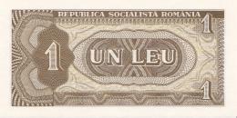 ROUMANIE - BILLET DE 1 LEU - 1966 - Roumanie