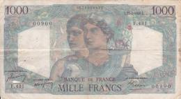 FRANCE - BILLET DE 1000 FRANC -  1948 - 1871-1952 Anciens Francs Circulés Au XXème