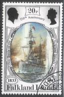 Falkland Islands. 1983 150th Anniv Of British Administration. 20p Used. SG 444 - Falkland Islands
