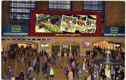 New York City Interior Grand Central Station   ( Amerique ) - Grand Central Terminal