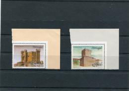 PORTUGAL 1988 Y&T 1735-1736** Chateaux - 1910 - ... Repubblica