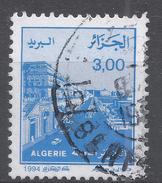 Algeria 1994. Scott #1010 (U) Street Scene In Algiers - Algérie (1962-...)