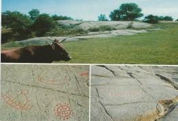 Felsenzeichnungsgebiet - Bronzeage. Bornholm Denmark.   B - 1268 - Dolmen & Menhirs
