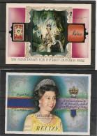 BELIZE Blocs  N° 59-62** Queen - Belize (1973-...)