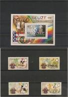 BELIZE Année 1984 Sport N° Y/T: 679 A/ D-Blocs  N° 52** - Belize (1973-...)
