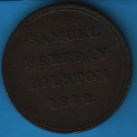 STAFFORDSHIRE SAMUEL FEREDAY BILSTON  ONE PENNY 1812 TOKEN - Monetary/Of Necessity