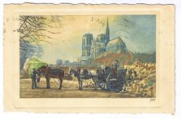 PARIS  ABSIDE DE NOTRE DAME - Notre Dame De Paris