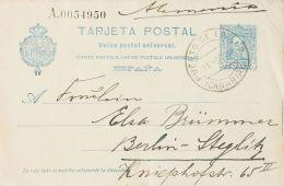 Canarias. Historia Postal. PUERTO DE LA LUZ / (CANARIAS). MAGNIFICA. - Spain