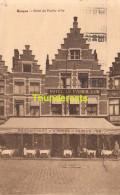 CPA BRUGES HOTEL DU PANIER D'OR BRUGGE - Brugge
