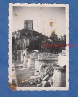 Photo Ancienne - CREST ( Drome ) - Le Pont Qui A Sauté Pendant L'avance Allemande Le Lundi 24 Juin 1940 ç 4h24 - Krieg, Militär