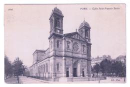 PARIS  EGLISE SAINT FRANCOIS XAVIER - Kirchen