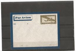 ENTIERS POSTAUX  POSTE AERIENNE  N°  P A EN  5 **  Catalogue A.C.E.P. - Storia Postale