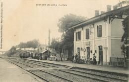 54 - Einvaux - Gare -  Chemin De Fer - Ligne Nancy à Belfort - Stazioni Senza Treni