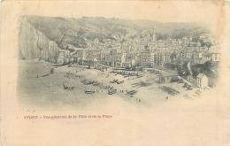 76-780 CPA  YPORT Vue Générale De La Ville Et De La Plage  Précurseur   Belle Carte  2 SCANS - Yport
