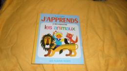 LES ALBUMS ROSES. / J'APPRENDS A RECONNAITRE LES ANIMAUX. / EDITION 1972. - Libri, Riviste, Fumetti