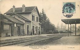 55 - Vaucouleurs - Gare - Chemin De Fer - Ligne Neufchateau à Pagny Sur Meuse - Stazioni Senza Treni