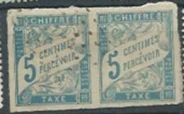Colonies Generales Française - Taxe  N°18 PAIRE Oblitéré Ai21312 - Taxes