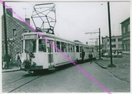 FOTO HERDRUK / LAATSTE TRAM 26.5.68 LIJN 61 ANTWERPEN - MERKSEM - SCHOTEN LINDELEI / VOERTUIGEN 9666 19578 & 19580 - Schoten