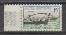 FRANCE / 1958 / Y&T N° 1162 ** : Joutes Nautiques - Gomme D´origine Intacte - Unused Stamps