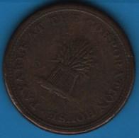NORFOLK TUNSTEAD & HAPPING  ONE PENNY 1812  TOKEN - Monetary/Of Necessity