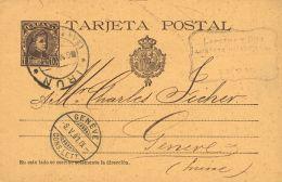 País Vasco. Historia Postal. EP37. IRUN A SUIZA. MAGNIFICO. - Espagne