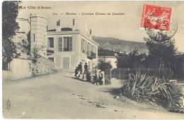 Cpa Menton - L'ancien Chemin De Castellar - Menton