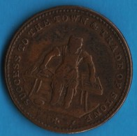 Staffordshire  Farthing Lucas' Genuine Tea Warehouse Established 1820 - Professionals/Firms