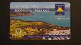 Germany - Gästekarte - Camping Park Gohren - Kressbronn/Bodensee - Look Scans - Publicité