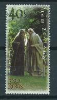 2001 New Zealand 40 Cent Lord Of The Rings Used/gebruikt/oblitere - Nieuw-Zeeland