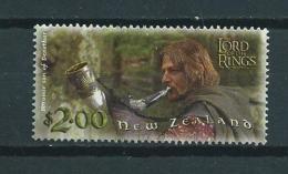 2001 New Zealand $2.00 Lord Of The Rings Used/gebruikt/oblitere - Neuseeland