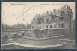 CPA 60 - Cuts, Le Château - PD - France