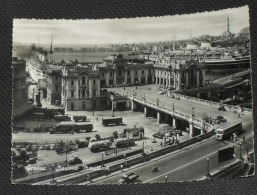GENOVA - Stazione Marittima Con Treno E Nave - 1956 - Genova