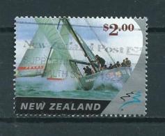 2002 New Zealand $2.00 America's Cup,sailing,zeilen Used/gebruikt/oblitere - Nieuw-Zeeland